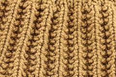 Knitted texture background close up Stock Images
