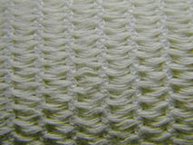 Knitted texture of elastic bandage Royalty Free Stock Image
