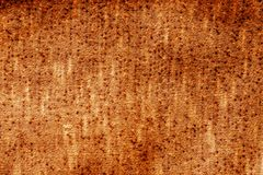 Knitted texture in orange tone. Royalty Free Stock Photos