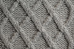 Knitted texture Royalty Free Stock Photos