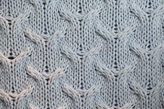 Knitted texture Royalty Free Stock Images