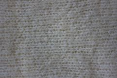 White woolen cloth. Stock Image