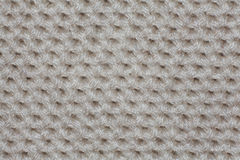 Knitted texture, wool, crafts white Royalty Free Stock Photography