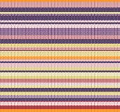 Knitted Vector Pattern Royalty Free Stock Photography