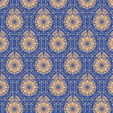 Knitted wallpaper seamless pattern Stock Photography