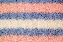 Knitted warm background of handwork Royalty Free Stock Image