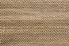 Knitted wicker texture of rattan pattern. Stock Image