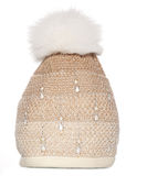 Knitted winter hat Royalty Free Stock Image
