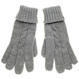 Knitted wollen gloves Royalty Free Stock Images