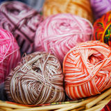 Knitted Wool Royalty Free Stock Photo