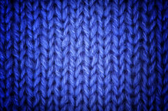 Knitted wool background Royalty Free Stock Photos