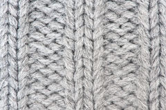 Knitted wool background Stock Photography