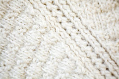 Knitted wool fabric Stock Images