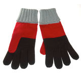 Knitted wool gloves Stock Photography