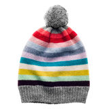 Knitted wool hat Stock Image