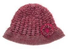 Knitted wool hat Royalty Free Stock Photos