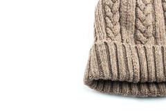 Knitted wool hat Royalty Free Stock Photography