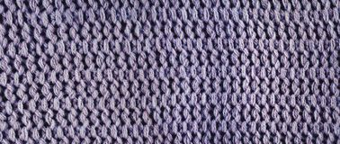 Knitted wool, panorama. Royalty Free Stock Images