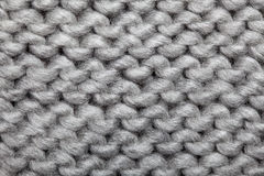 Knitted Wool Pattern Stock Image