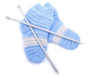 Knitted wool socks. Stock Photography