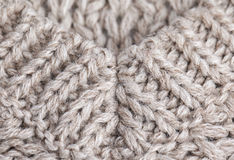Knitted wool texture Royalty Free Stock Photos
