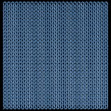 Knitted wool texture loops Stock Photography
