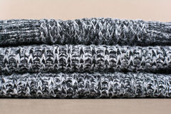 Knitted wool texture Royalty Free Stock Image