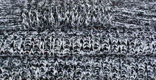Knitted wool texture Stock Photos