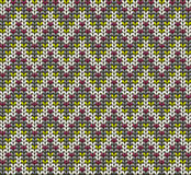 Knitted wool vector background Stock Photography