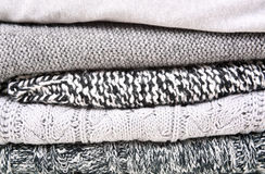 Knitted Woolen Clothing Royalty Free Stock Images