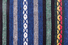 Knitted woolen fabric Royalty Free Stock Photos