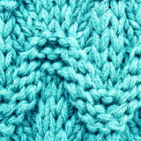Knitted woolen fabric multicolor texture. High resolution Fabric Royalty Free Stock Photo