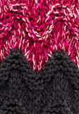 Knitted woolen fabric multicolor texture. High resolution Fabric Stock Photography