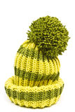 Knitted woolen hat Stock Images