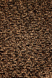 Knitted woollen texture. A detail of a knitted woollen sweater Royalty Free Stock Photo