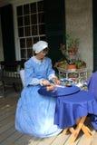 knitter δαντέλλα Στοκ φωτογραφία με δικαίωμα ελεύθερης χρήσης