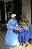 knitteren snör åt Royaltyfri Foto