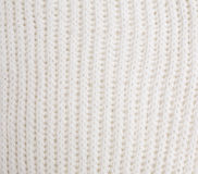 Knitting. White knitting as the  background Stock Images