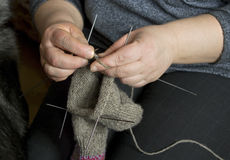 Knitting. Stock Photography