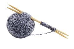 During knitting Stock Photos