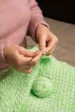 knitting royalty-vrije stock fotografie