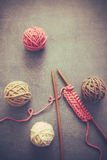 knitting Immagine Stock