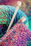 knitting Fotos de archivo libres de regalías