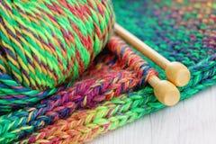 knitting royalty-vrije stock afbeeldingen