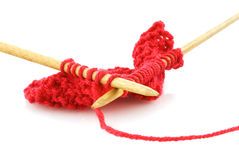 Knitting Royalty Free Stock Photos
