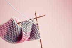 knitting Fotografía de archivo libre de regalías