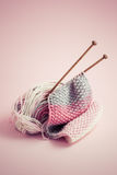 knitting royalty-vrije stock afbeelding