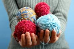 knitting royalty-vrije stock foto's