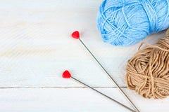 knitting royalty-vrije stock foto