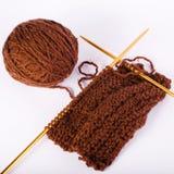 knitting Imagen de archivo libre de regalías